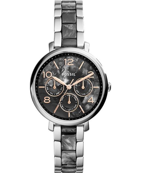 Fossil Jacqueline Multi-Function Gray Ladies Watch 36mm
