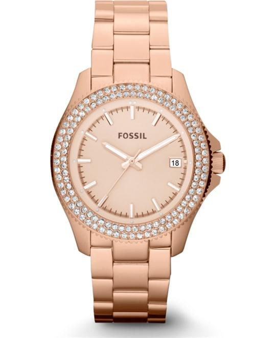 Fossil Rose Gold Watch 36mm