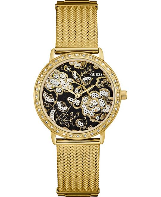 GUESS Brocade Women's Mesh Bracelet  Watch 35mm