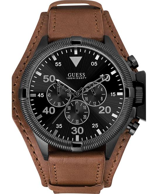 GUESS Oversized Honey Chronograph Men's Watch 48mm