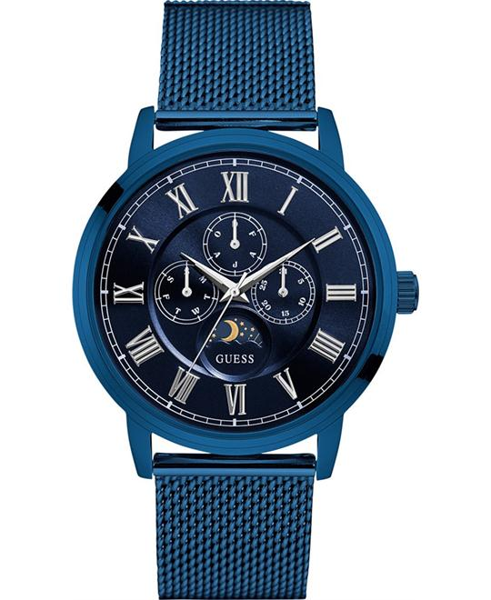 GUESS Multifunction Blue Bracelet Men's Watch 43mm