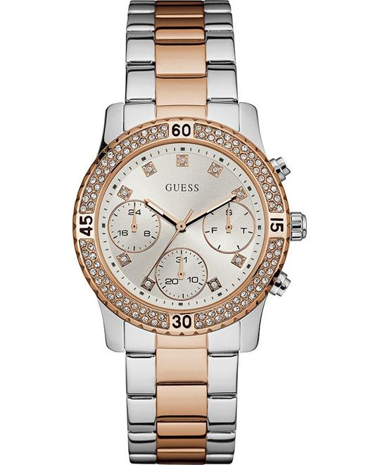 GUESS Two-Tone Stainless Steel Women's Watch 37mm