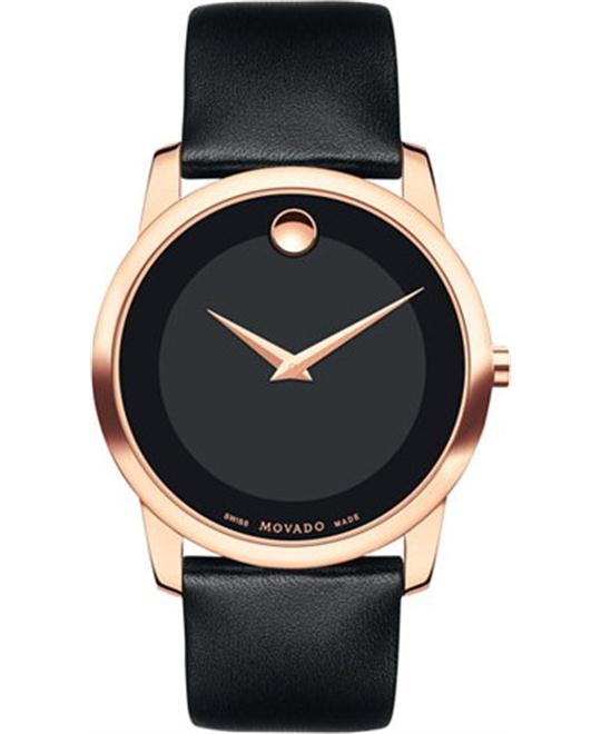 Movado Museum Black Watch 40mm