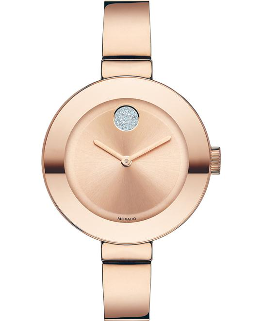 Movado Bold Rose Gold Ion-Plated Women's 34mm