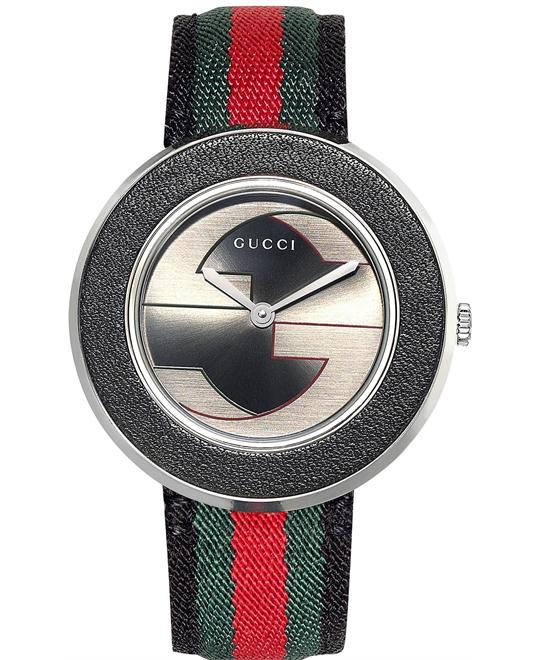 Gucci U - Play YA129444 Women's Swiss Nylon Watch 35mm