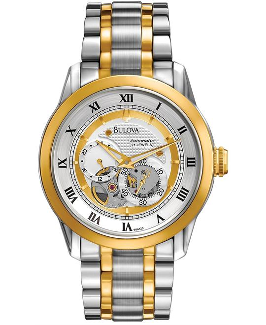Bulova Men's BVA-SERIES Two-Tone Automatic Watch 42mm