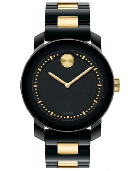 Movado Unisex Swiss Bold Gold Ion-Plated  Watch 36mm