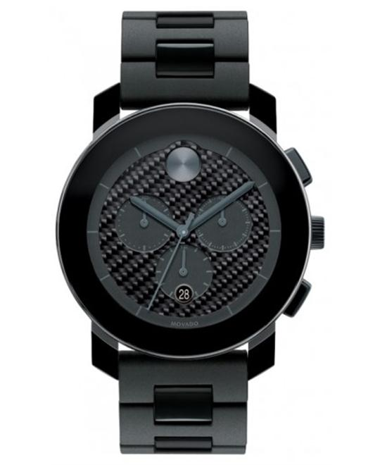 Movado Unisex Swiss Chronograph Material Watch 44mm