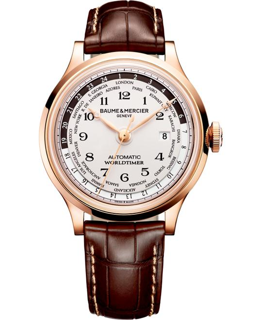 Baume & Mercier Capeland Men's Rose Gold Watch 44mm