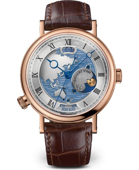 Breguet Classique 5717BR/AS/9ZU Hora Mundi Watch 43mm
