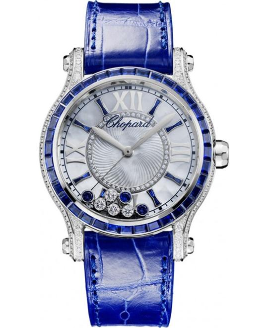 CHOPARD 274891-1003 Happy Sport Diamonds Watch 36mm