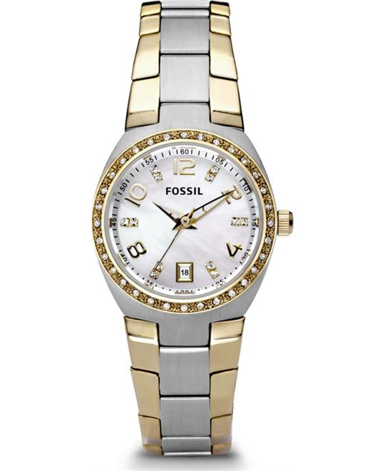 Fossil Crystal Dial Watch, 28mm