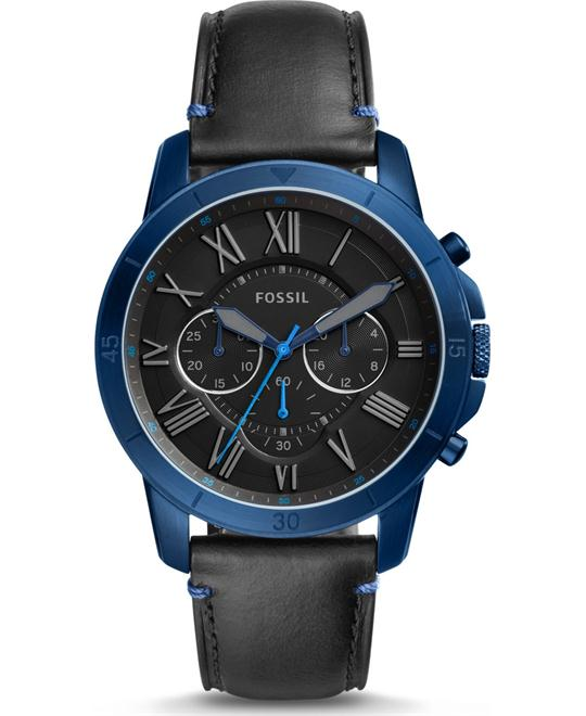 Fossil Grant Sport Chronograph Black Watch 44mm