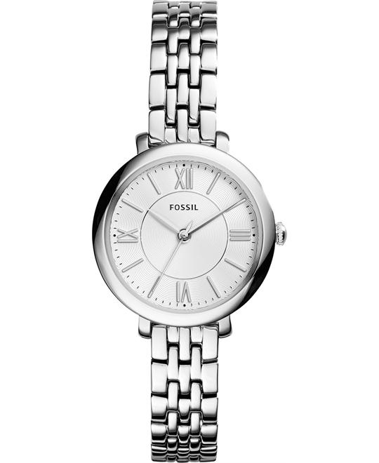 FOSSIL Jacqueline Silver Ladies Watch 26mm