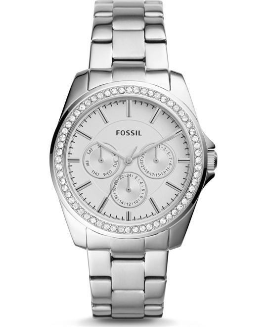 Fossil Janice Multifunction Stainless Steel Watch 40mm