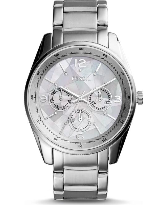 Fossil Justine Multifunction Stainless Steel Watch 36mm