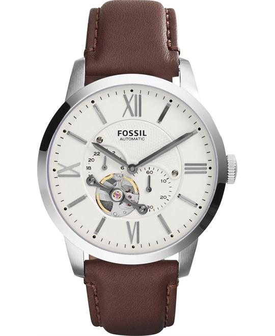 Fossil Townsman Automatic Leather Watch 44mm