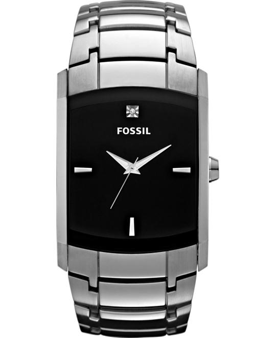 Fossil Men's Diamond Accent Stainless watch