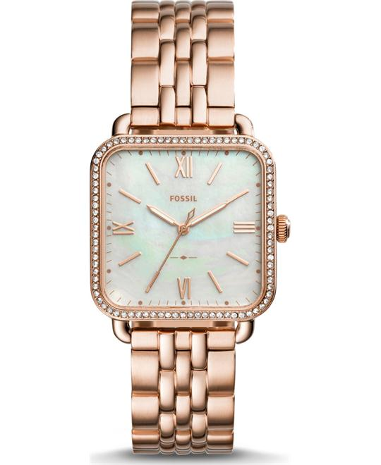 Fossil Micah Three-Hand Rose Gold-Tone Watch 32mm