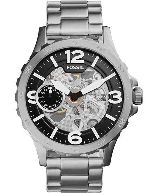 Fossil Nate Men's Hand Wind Watch 50mm