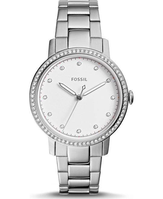 Fossil Neely Three-Hand Stainless Steel Watch 35mm