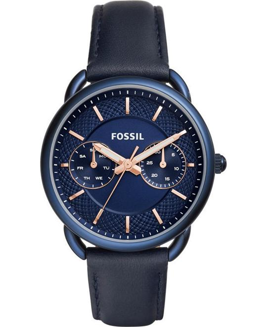 FOSSIL Tailor Women's Blue Dial Ladies Watch 35mm