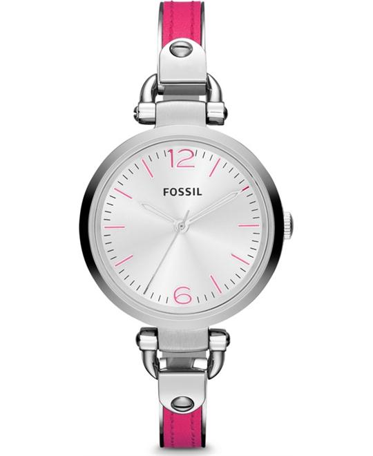 Fossil Three Hand  Watch - Pink 33mm