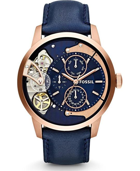 FOSSIL Townsman Navy Multifunction Watch 44mm