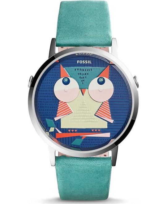 Fossil Vintage Muse Teal Women's Watch 40mm