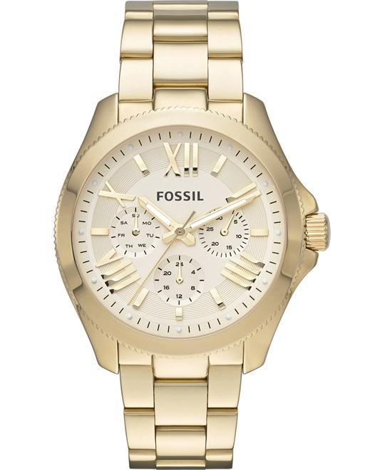 Fossil Women's Cecile Gold-Tone Watch 40mm