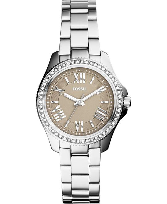Fossil Women's Cecile Mini Stainless Watch 29mm