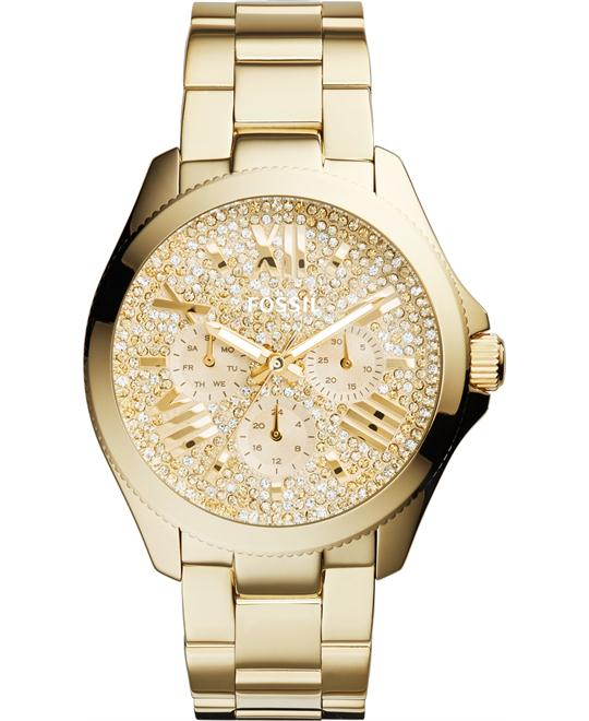 Fossil Women's Cecile Multifunction Watch - Gold-Tone, 40mm