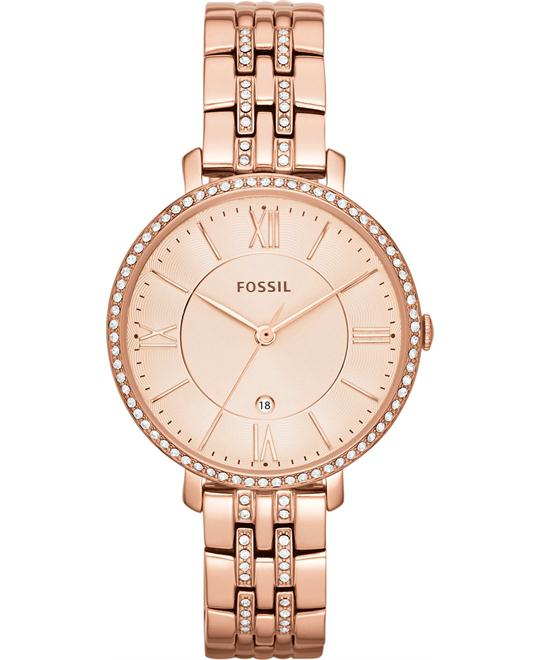 Fossil Jacqueline Three-Hand Date Watch 36mm
