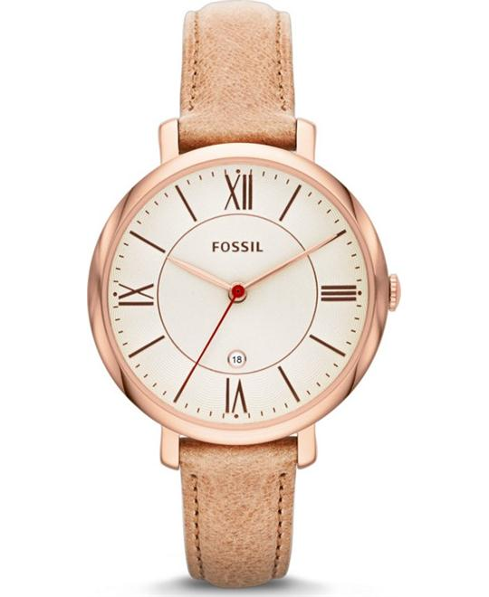 Fossil Women's Jacqueline Three Hand Watch 36mm
