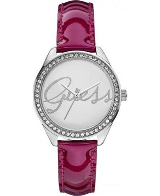 Guess Analog Silver Dial Women's Watch 35mm