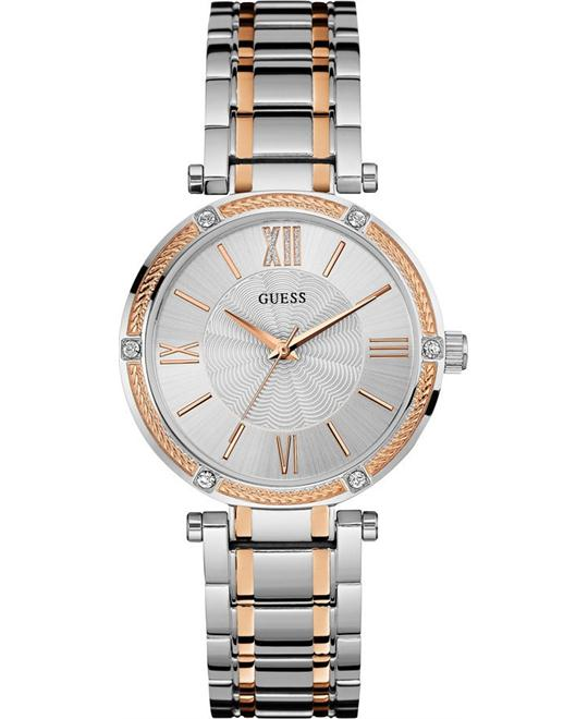 GUESS Jewelry-Inspired Dress Elegant Ladies 37mm
