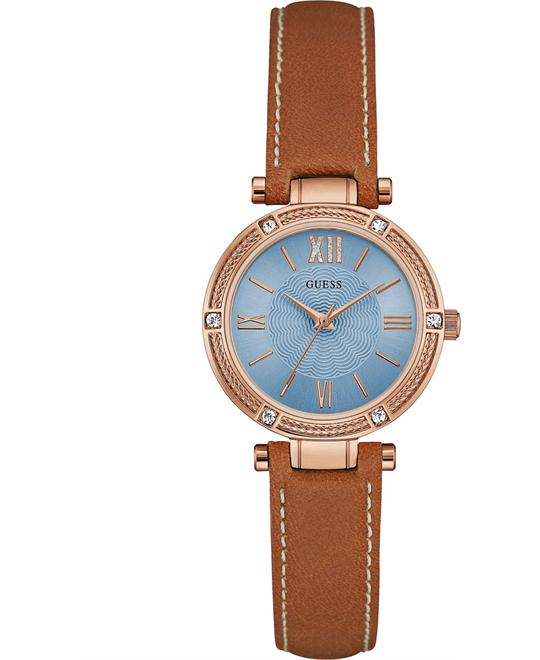 GUESS Dressy Rose Gold-Tone Watch 29.5mm