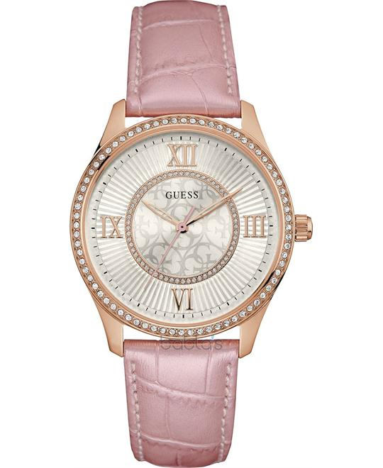 GUESS Dressy Rose Gold-Tone Watch 39mm
