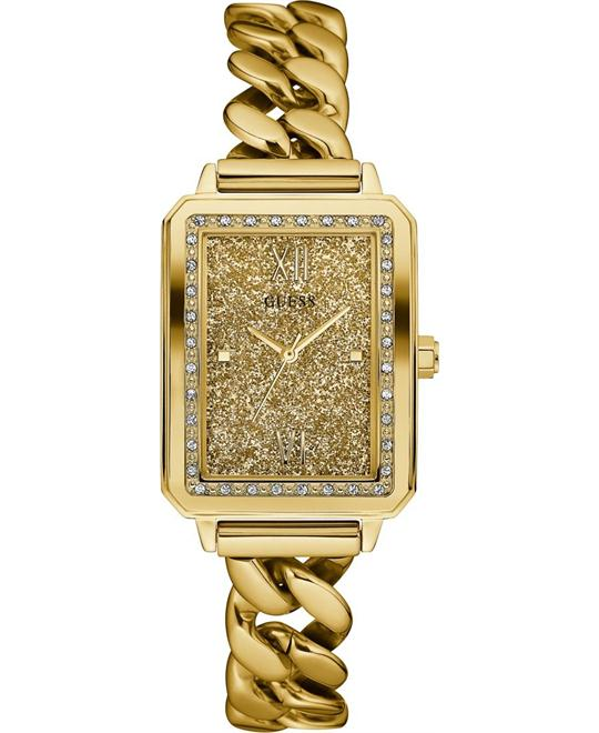 GUESS Trendy Chain Link Watch 28mm