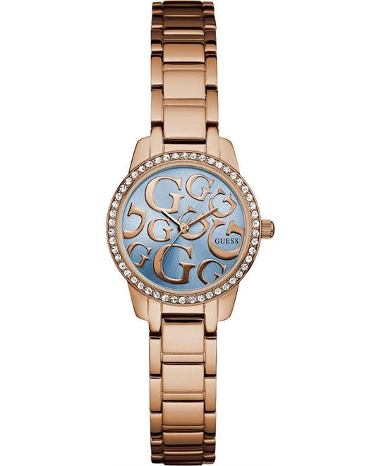 GUESS Iconic G Rose Gold-Tone Watch 27mm