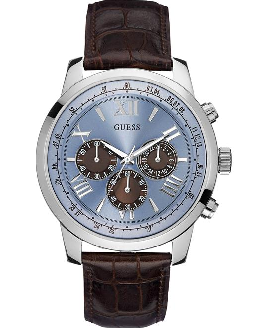 GUESS Iconic Men's Classic Stainless Steel 45mm