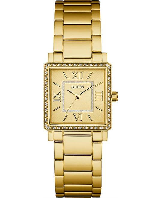 GUESS Ladies Dress Gold-Tone Watch 28mm