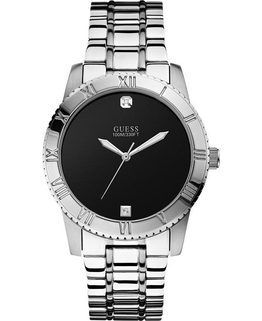 GUESS Self Assured Round Diamond Watch 42mm