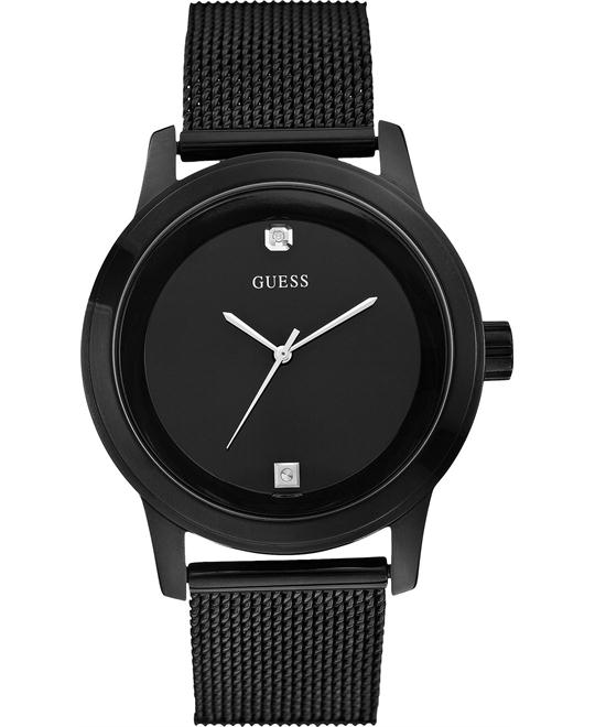 GUESS  Diamond Stainless Men's Watch 45mm