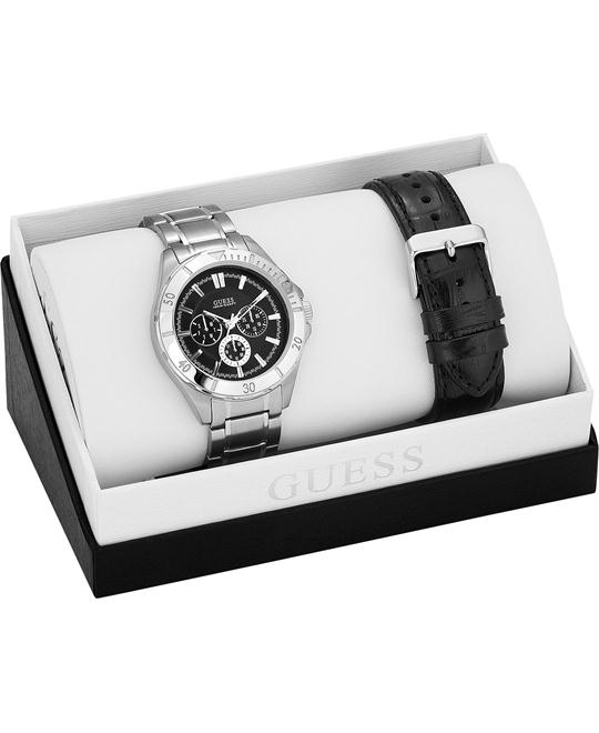 GUESS Interchangeable Wardrobe Watch Set, 41mm
