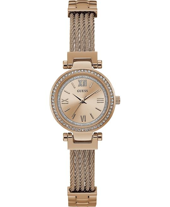 GUESS Quartz Stainless Steel Casual Watch 27mm