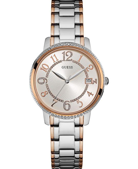 GUESS Quartz Stainless Steel Women's Watch 36mm