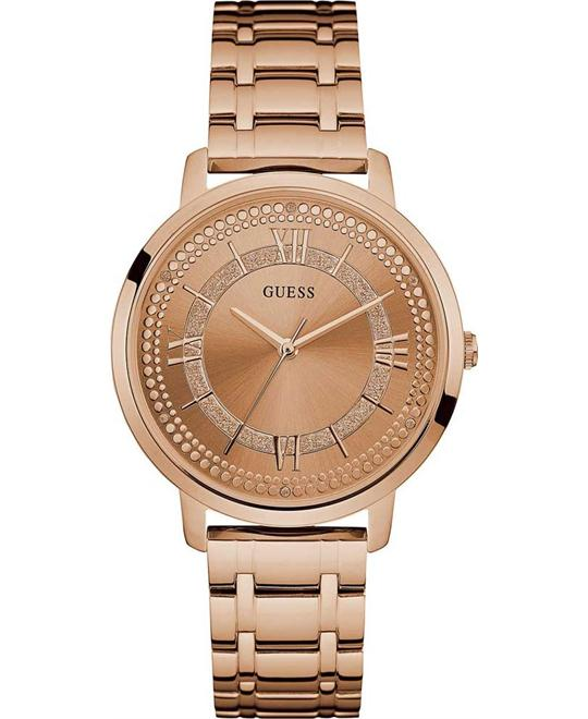 GUESS Rose Gold-Tone Women's Watch 40mm