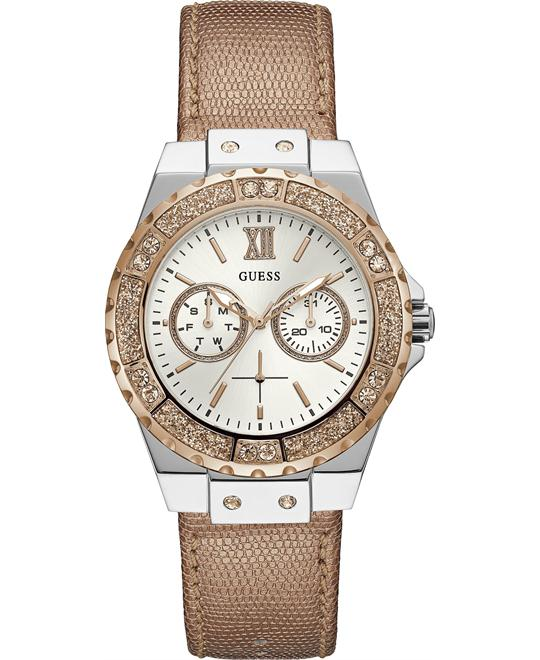 Guess Silver Quartz Fashion Watch 38mm