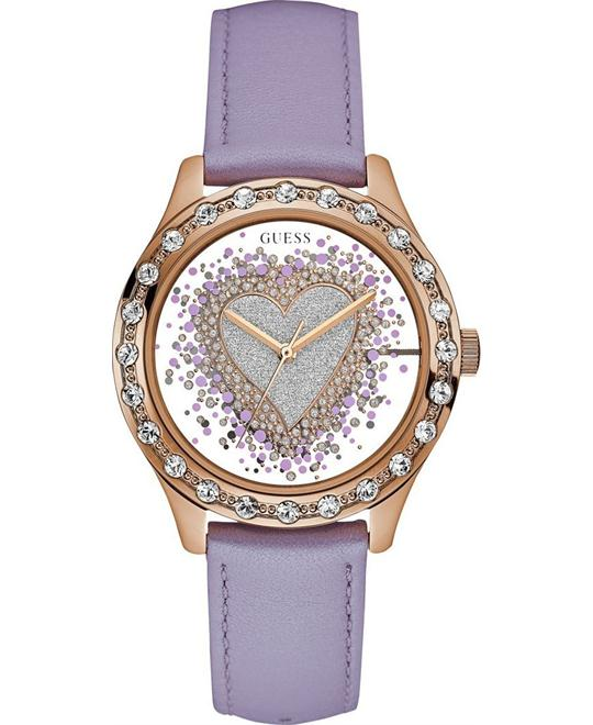 GUESS Trendy Rose Gold-Tone Watch 38mm